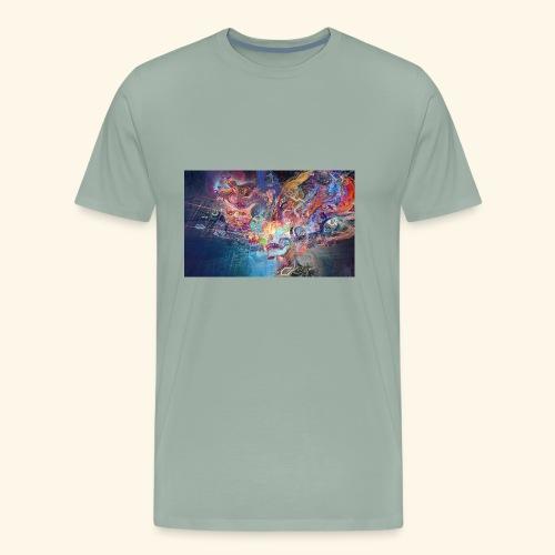 mental explosion - Men's Premium T-Shirt