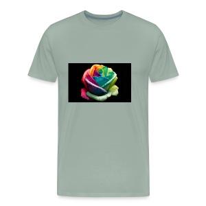 Colorful Rose Wallpapers 1 - Men's Premium T-Shirt