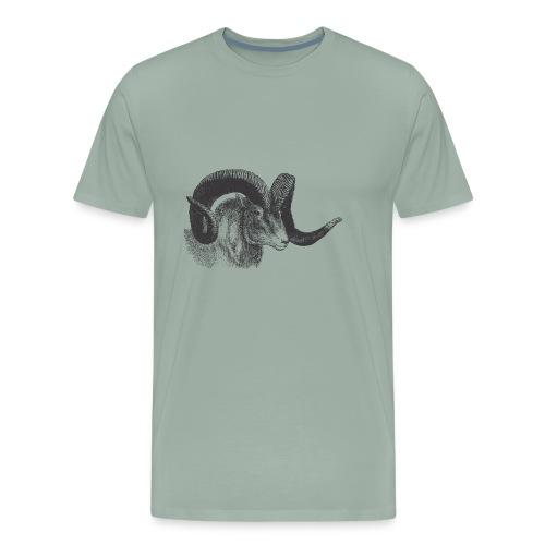 Vintage Ram - Men's Premium T-Shirt