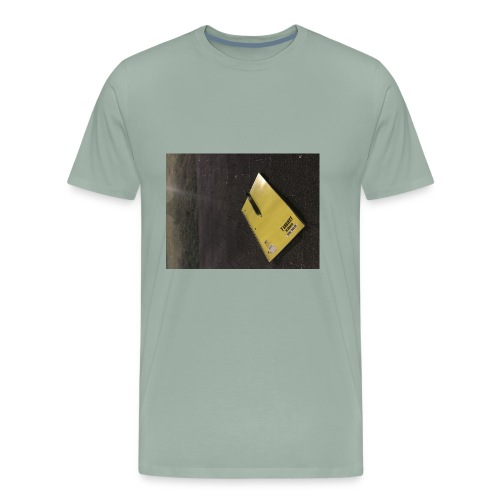 The Beginning is Never the End - Men's Premium T-Shirt