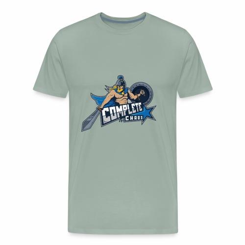 Complete Chaos - Blue - Men's Premium T-Shirt