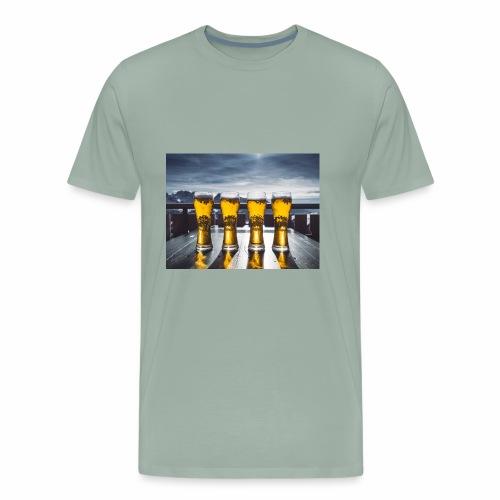 beer pic - Men's Premium T-Shirt