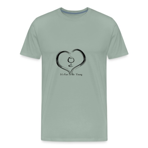 happy hearts - Men's Premium T-Shirt