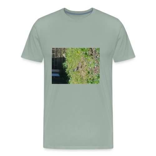 Wears Worm? - Men's Premium T-Shirt