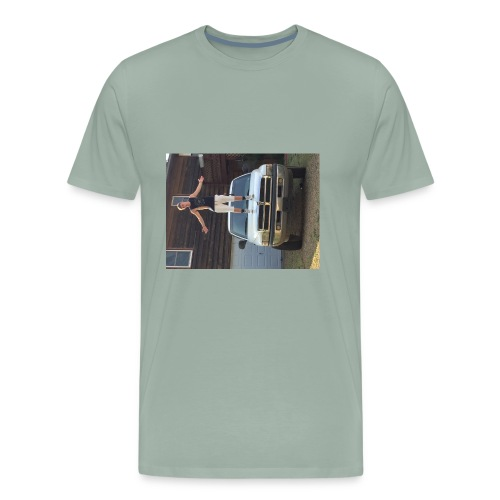 #woodingang - Men's Premium T-Shirt