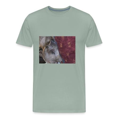 The best dog in the world - Men's Premium T-Shirt
