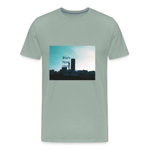 Johannesburg hustles - Men's Premium T-Shirt