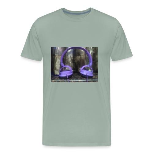 Nakul headphone - Men's Premium T-Shirt