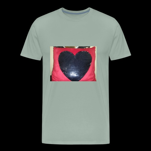 Heart pillow - Men's Premium T-Shirt