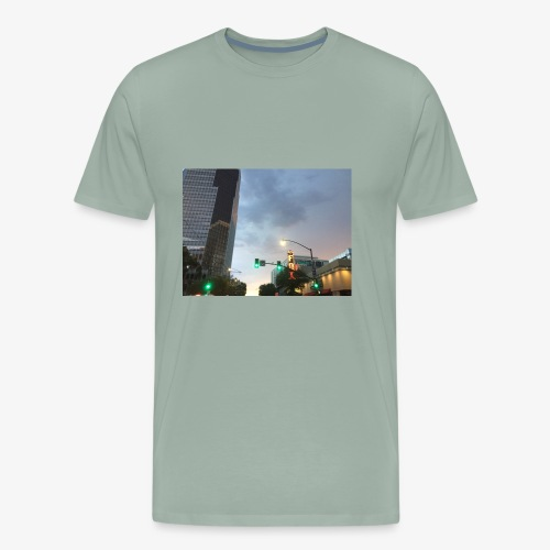 Tucson Rainy Weather - Men's Premium T-Shirt