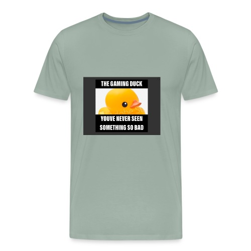 The Gaming Duck meme - Men's Premium T-Shirt