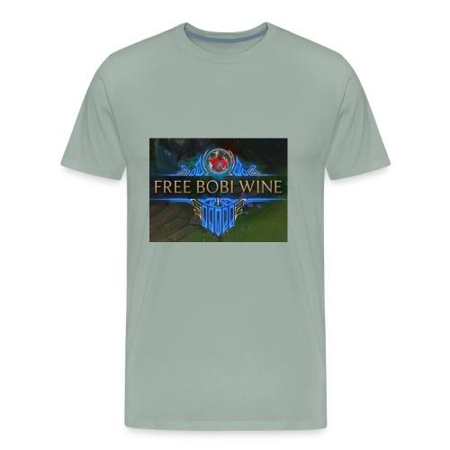 FREE BOBI WINE - Men's Premium T-Shirt