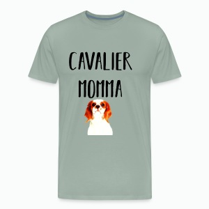 Cavalier King Charles Spaniel Mom - Men's Premium T-Shirt