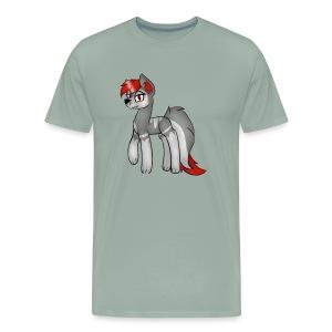 gray gray - Men's Premium T-Shirt
