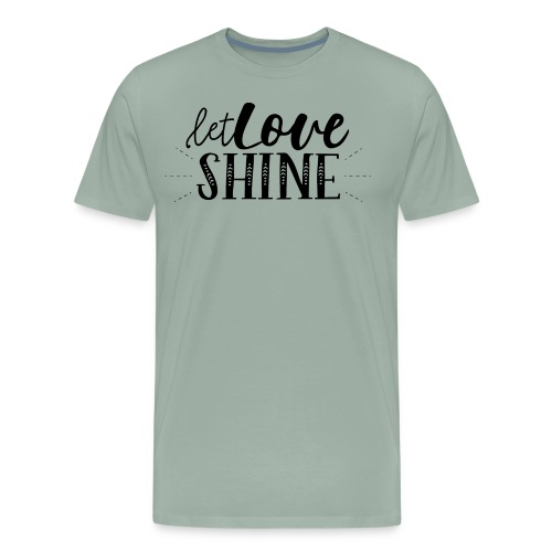 Let Love SHINE - Men's Premium T-Shirt