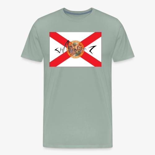Sharkbaitz Flordia Flag - Men's Premium T-Shirt