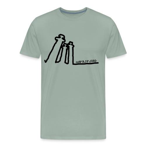Hafrsfjord - Men's Premium T-Shirt
