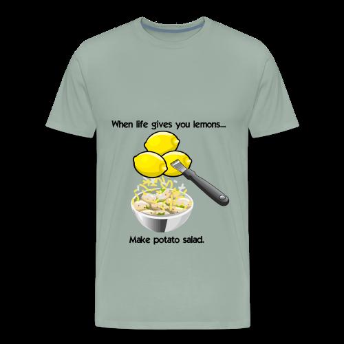 Lemon Taters 2 - Men's Premium T-Shirt