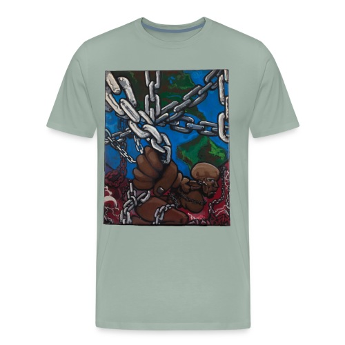 Weight of the World - Men's Premium T-Shirt