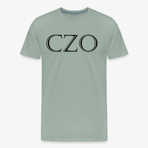 CoverZero CZO StoneScript - Men's Premium T-Shirt