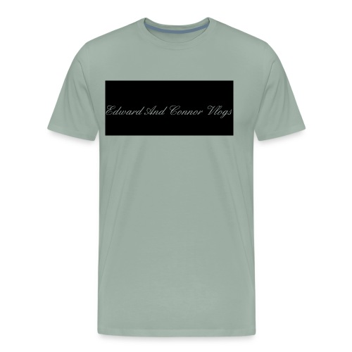 Edward and connor vlogs - Men's Premium T-Shirt