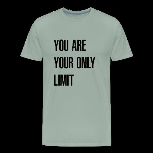 Limit Black - Men's Premium T-Shirt