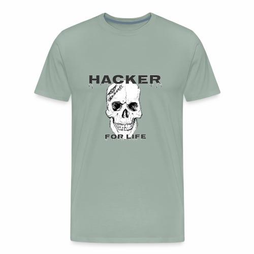 Hacker For Life - Men's Premium T-Shirt