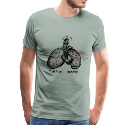 IZÄR CARDIAC ARREST - Men's Premium T-Shirt