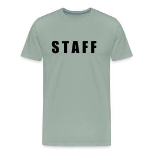STAFF shirt - Men's Premium T-Shirt