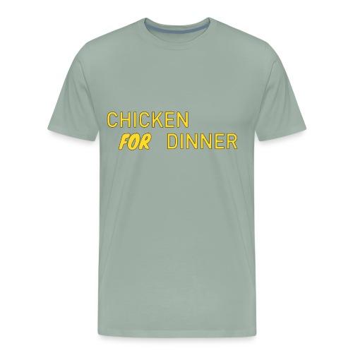 Chicken For Dinner - Men's Premium T-Shirt