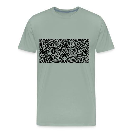 rock'n'rose tattoo style nr1 - Men's Premium T-Shirt