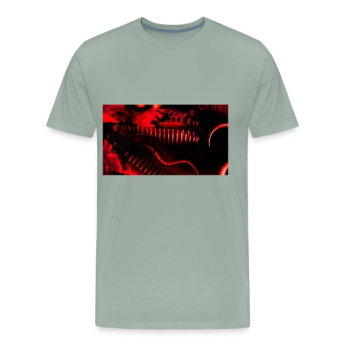 dodgchrgrs old image - Men's Premium T-Shirt