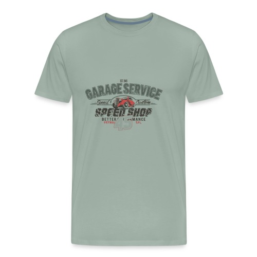 CAR GARAGE - Men's Premium T-Shirt