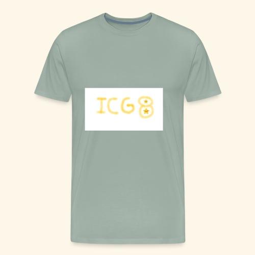 ICG8 with Paint - Men's Premium T-Shirt