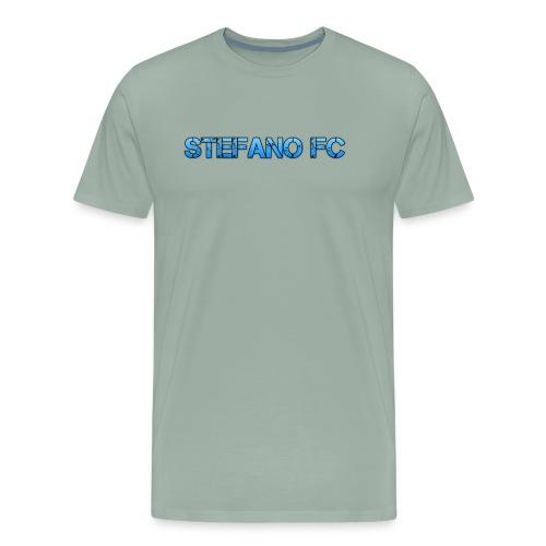 Blue Stefano FC Text - Men's Premium T-Shirt