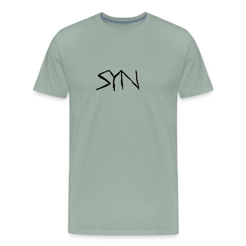 Syn Scarred Letters - Men's Premium T-Shirt