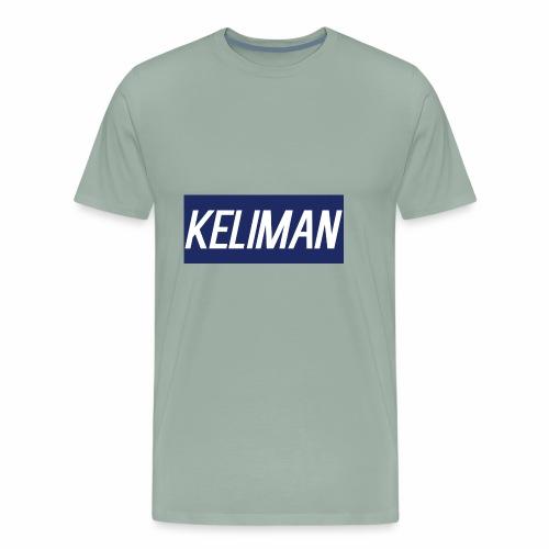 KeliMan Logo V1 - Men's Premium T-Shirt