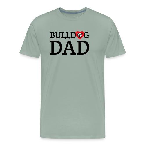 Bulldog Dad - Men's Premium T-Shirt