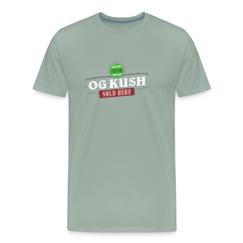 OG Kush Sold Here Retro Weed Shirt - Men's Premium T-Shirt
