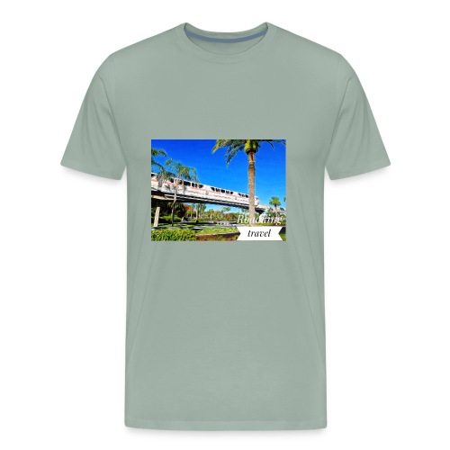 speed of rail - Men's Premium T-Shirt