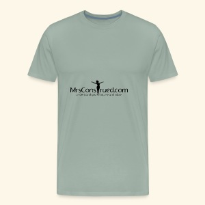 PNGMrsConstrued logo - Men's Premium T-Shirt