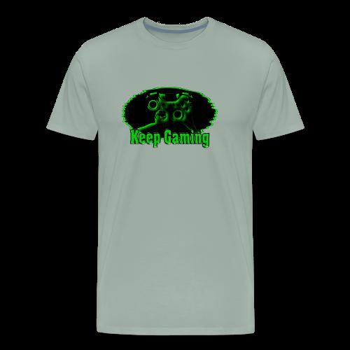 keep gaming 2 - Men's Premium T-Shirt
