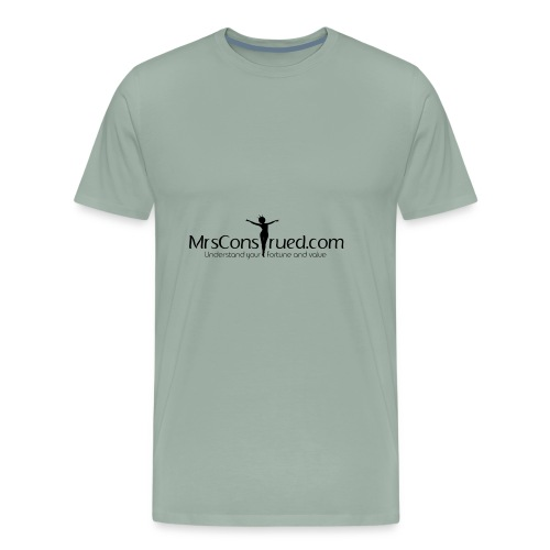 PNGMrsConstrued logo - Men's Premium T-Shirt