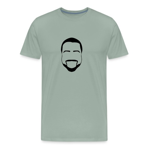 Smizzle Outline Logo - Men's Premium T-Shirt