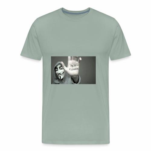 ANONYMOUS PRINTED T-SHIRT FOR MEN - Men's Premium T-Shirt