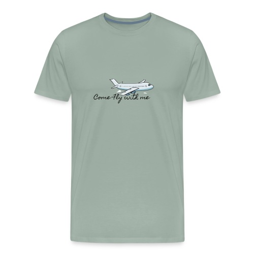 Come Fly With Me - Men's Premium T-Shirt