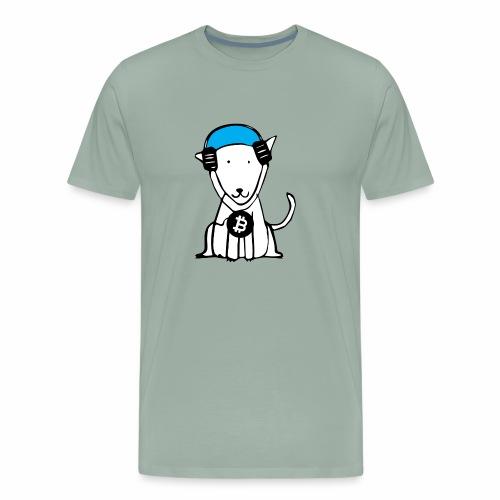 Crypto Dog - Men's Premium T-Shirt