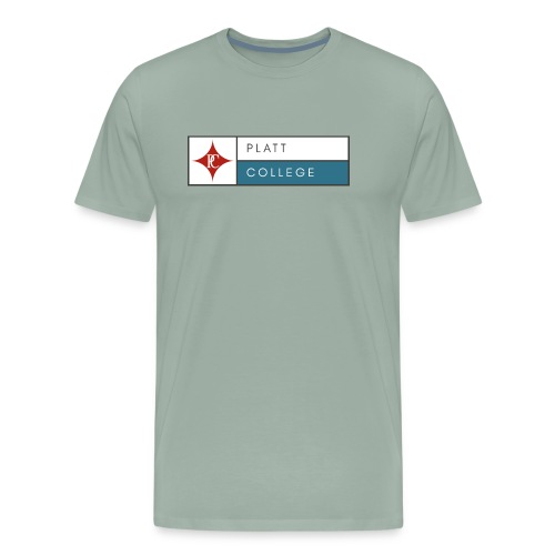 Platt College Logo 2000 - Men's Premium T-Shirt