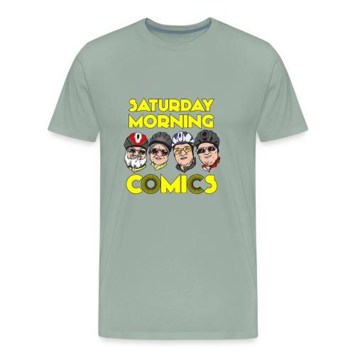 Saturday Morning Comics - Men's Premium T-Shirt