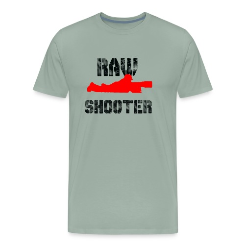 Raw Shooter - Men's Premium T-Shirt